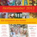 Einladung Herbstzauber 2013